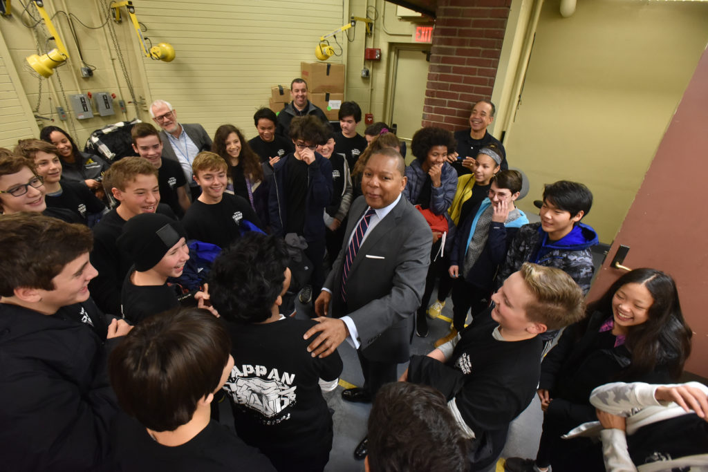 Tappan Jazz Band Meets Wynton Marsalis